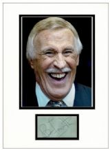 Bruce Forsyth Autograph Signed Display